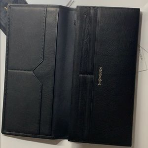 Yves Saint Laurent Leather Wallet